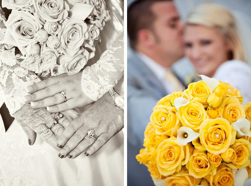 Wedding Photo 3 generation Rings