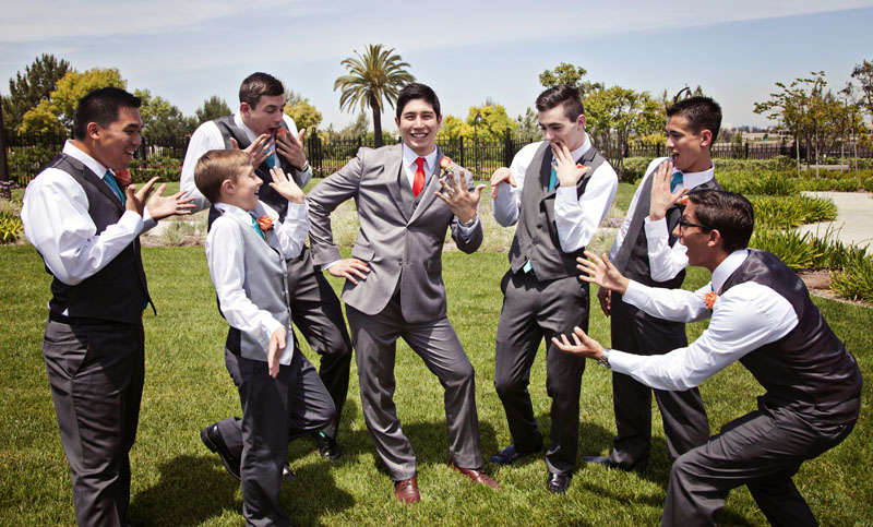 Groomsmen Picture Orange County Photograhy