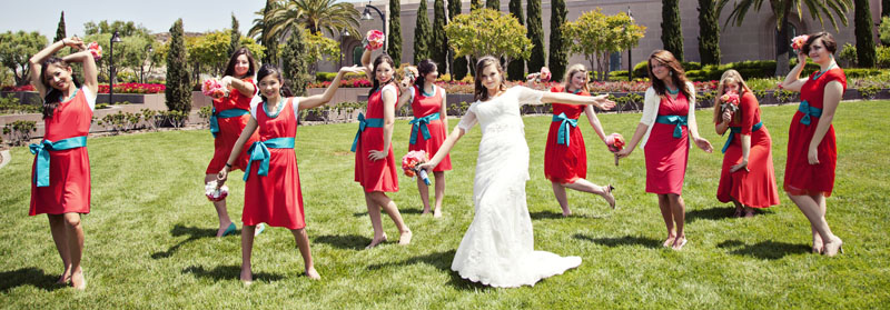 Fun Bridesmaids Picture California