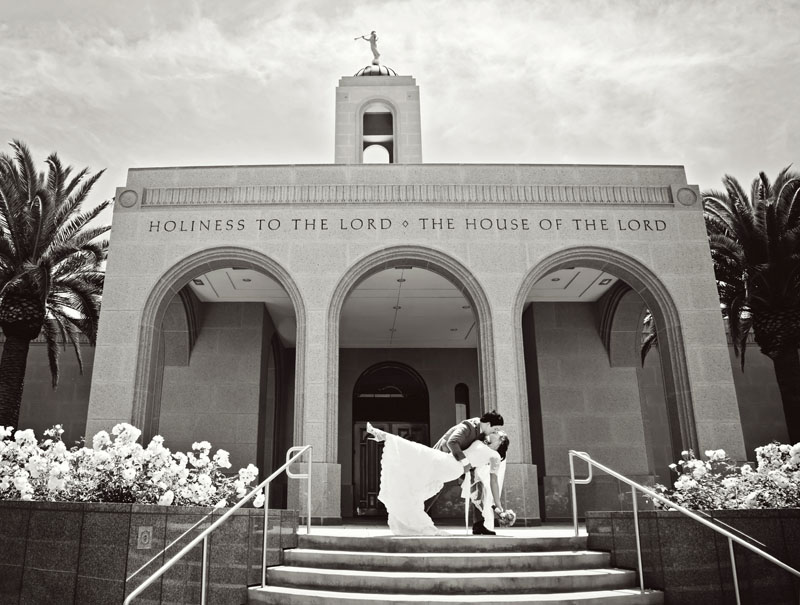 Newport Beach Temple Wedding Picture Photography Photograper is Dave Neeley